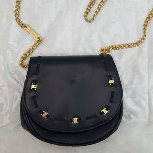 Salvatore Ferragamo Vintage Leather Evening Bag